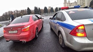 BMW M5 E60 за 1,1 МЛН. Задержала ПОЛИЦИЯ за ДРИФТ на СМОТРЕ.