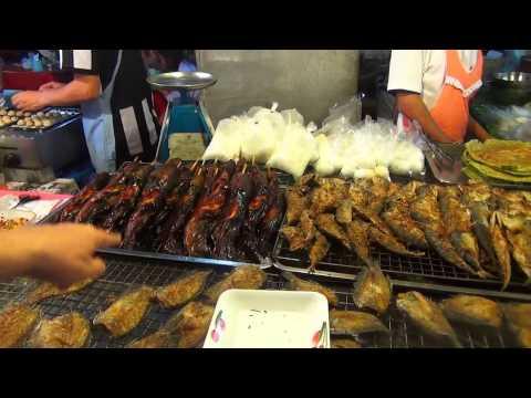 Цены на еду ночной рынок Паттайи