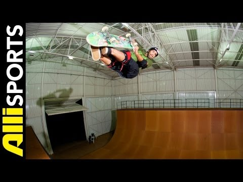 Sandro Dias Skating in Brazil + 5 Questions Answered, Alli Sports Skate My Five