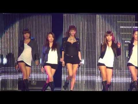 Kpop Masters G.na - Black And White 11 26 2011 (fancam) video