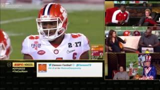 2016 CFP National Championship (Voices Megacast) - #2 Clemson vs. #1 Alabama  (HQ)