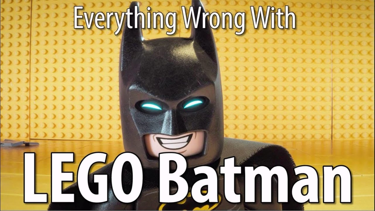 CinemaSins Highlights Everything Wrong With The LEGO Batman Movie