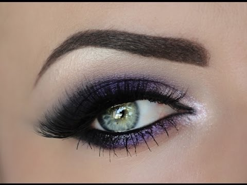 Sultry Purple Smokey Eye