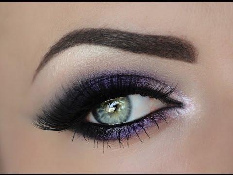 Sultry Purple Smokey Eye