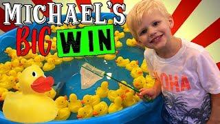 Fishing Game Champion || Mommy Monday