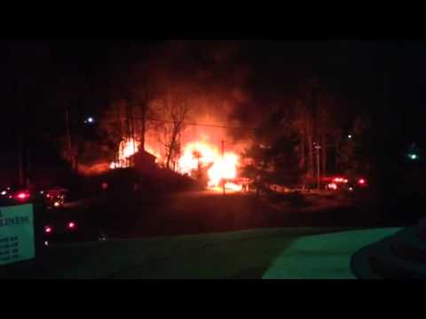 Cross mill fire, Marion NC