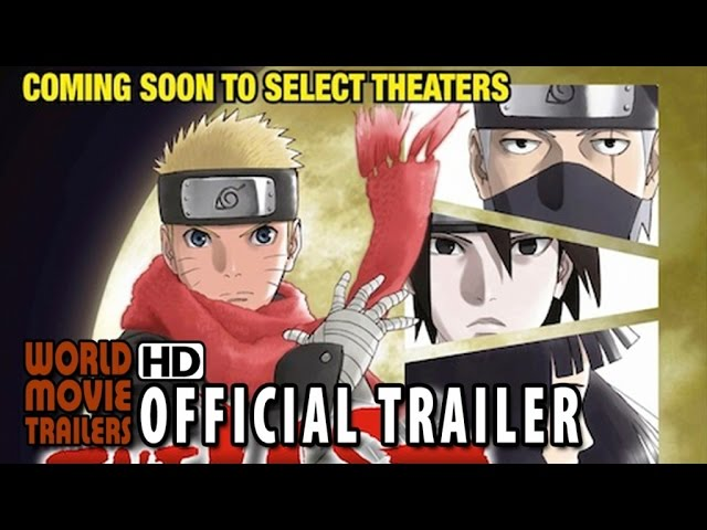 THE LAST: NARUTO THE MOVIE Official Trailer (2015) HD