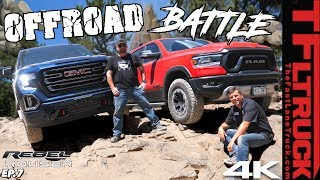 GMC Sierra AT4 Comes Up to Challenge the Ram Rebel Rouser and This is What Happens | Ep.7