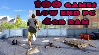 Top 100 Best Low End PC Games_2018(4GB RAM)