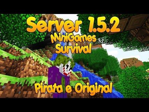 Server de minecraft    server 1.5.2 MiniGames e Survival [Pirata/Original]