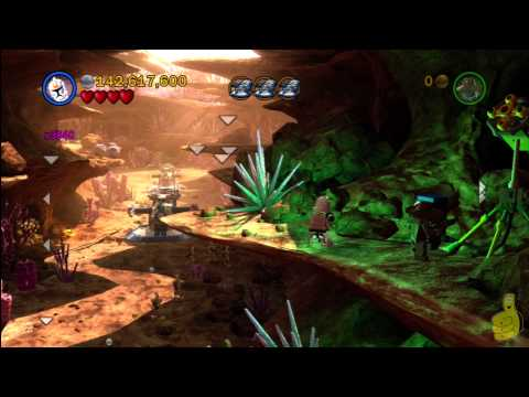 LEGO Star Wars 3: Ambush! Free Play (All Minikits) - HTG