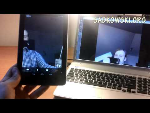 Skype Video Calling Android on Google Nexus 7