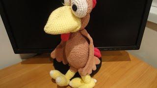 Петух Морхухн Ч-1 Cock Moorhuhn Crochet Р-1