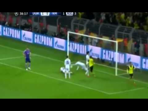 Borussia Dortmund vs Real Madrid 2-0 All Goals & Highlights 08 04 2014 [HD]