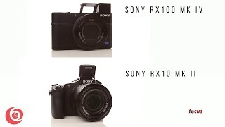 Sony RX10 mk II & RX100 mk IV Overview
