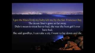 Watch Eric Clapton San Francisco Bay Blues video
