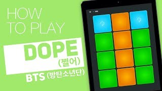 How to play: DOPE 쩔어 (BTS 방탄소년단) - SUPER PADS - Sax Kit