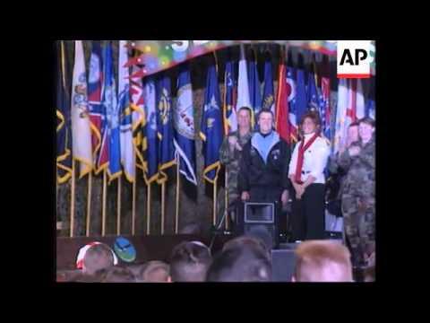 BOSNIA: US DEFENCE SECRETARY WILLIAM COHEN VISIT