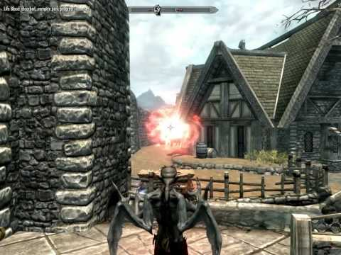 Brincando no TES V Dawnguard (TGM ativo)
