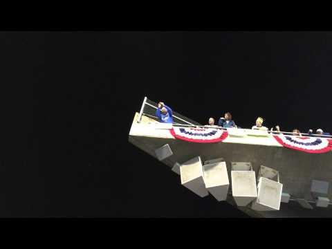 Ace Peanut Man at 2014 World Series Game 1, San Francisco Giants @ Kansas City Royals