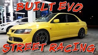 BUILT EVO vs BUILT TOYOTA SUPRA, TURBO CAMARO, GT500, WHIPPLE TERMINATOR & HELLCAT STREET RACING!!