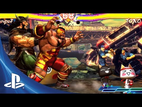 Street Fighter X Tekken for PS Vita: Launch Trailer