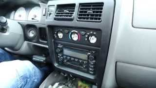 Toyota Tacoma 1998-2004 iPhone, iPod, AUX and Bluetooth adapter installation