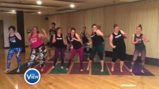 YogaSport Dallas Rock The #ViewSlide | The View