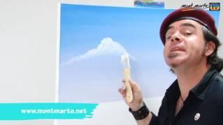 download lagu Art Lesson: How To Paint Clouds Using Oil Paint gratis