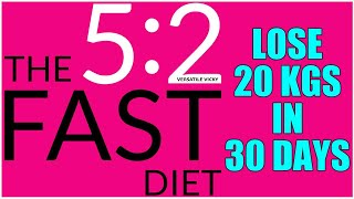 Intermittent Fasting Meal Plan 5 2 Diet | Lose 20Kg in 1 Month| Intermittent Fasting For Weight Loss