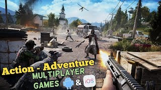 Top 10 Action-Adventure Multiplayer Games for iOS & Android