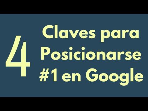 Posicionamiento Web: Como Posicionarse #1 en Google