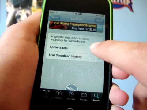 How to get my Moving Wallpaper on iPod Touch & iPhone on 3.0 - NO vWallpaper Video