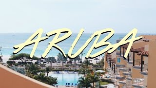 ARUBA TRAVEL DIARY 2017