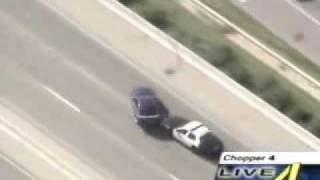 mustang getting away from police incredible