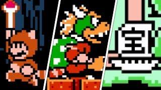 Super Mario Bros. 3 - All Secrets & Easter Eggs