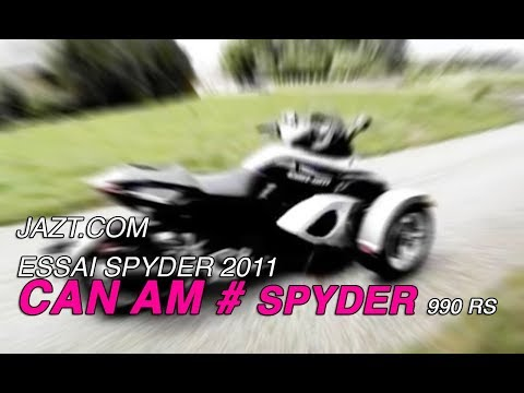 Essai du Can-Am Spyder RS
