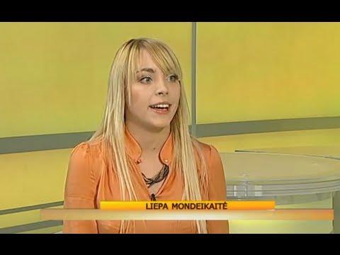 Liepa Mondeikaitė about Apkabink dar on Labas rytas, Lietuva.
