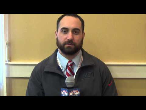 USA vs. Russia Post Game Interview with Josh Sweeney
