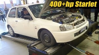 400+hp Starlet sleeper!