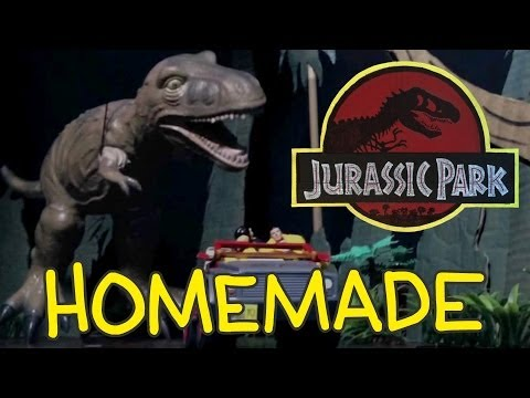 Jurassic Park T-Rex Chase - Homemade Shot for Shot