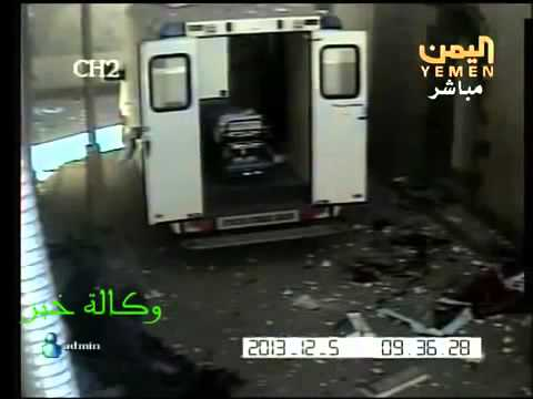 Harrowing Footage Of Al Qaeda Attack In Yemen Hospital +18 video