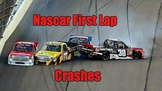 Nascar First Lap Crashes