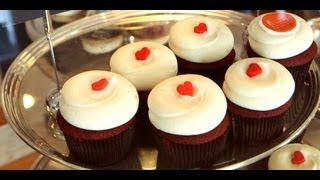 Red Velvet Cupcakes Recipe | Georgetown Cupcake | Get The Dish