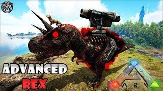DOMAMOS O REX COM CANHÃO: ADVANCED REX!!! - ARK SURVIVAL EVOLVED: PROMETHEUS V2 ◄BaconsExtreme► #30