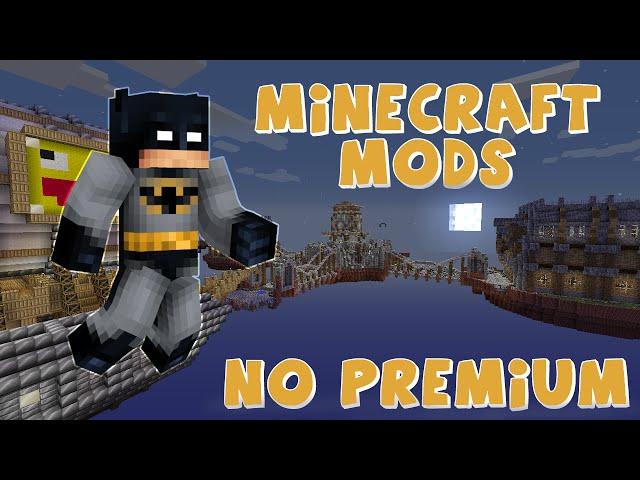 Minecraft online con Mods - Server no premium - SKEXMODS