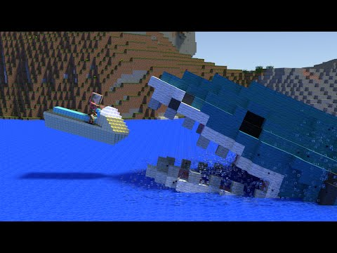 Monster School: Jet Ski - Minecraft Animation