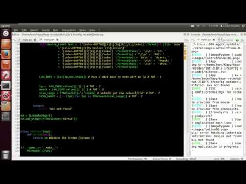 Kapy Re Coded Tut 2 (Ifconfig function Kivy ids)