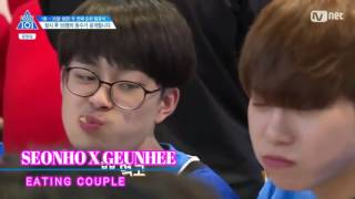 [Produce 101/ss2] Seonho and his bromances part 1