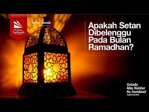 Tanya Jawab | Apakah Setan Dibelenggu Pada Bulan Ramadan? - Ustadz Abu Haidaw As Sunday